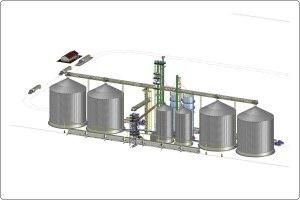 Final Rail Loadout Grain System